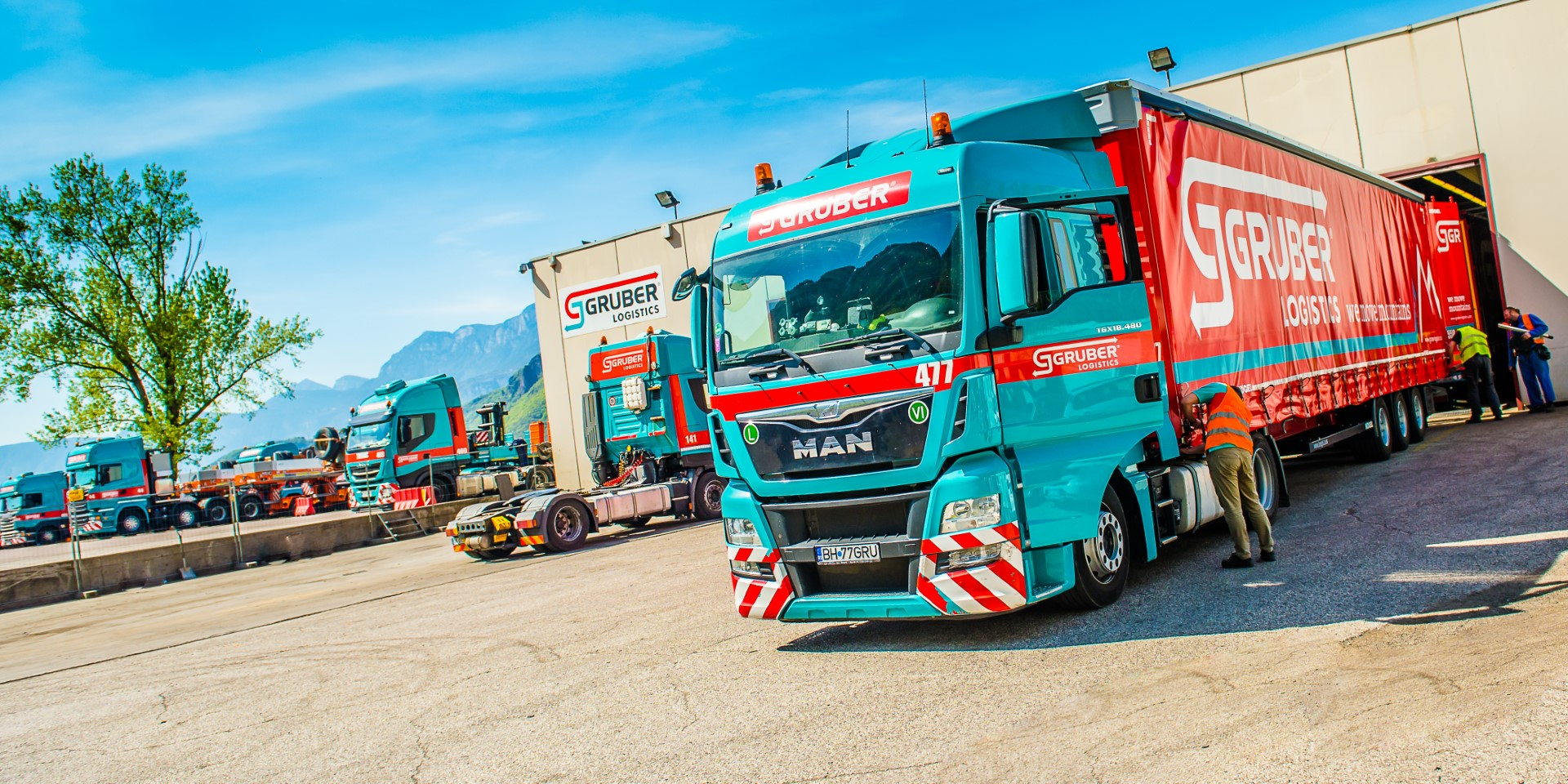 camion groupage