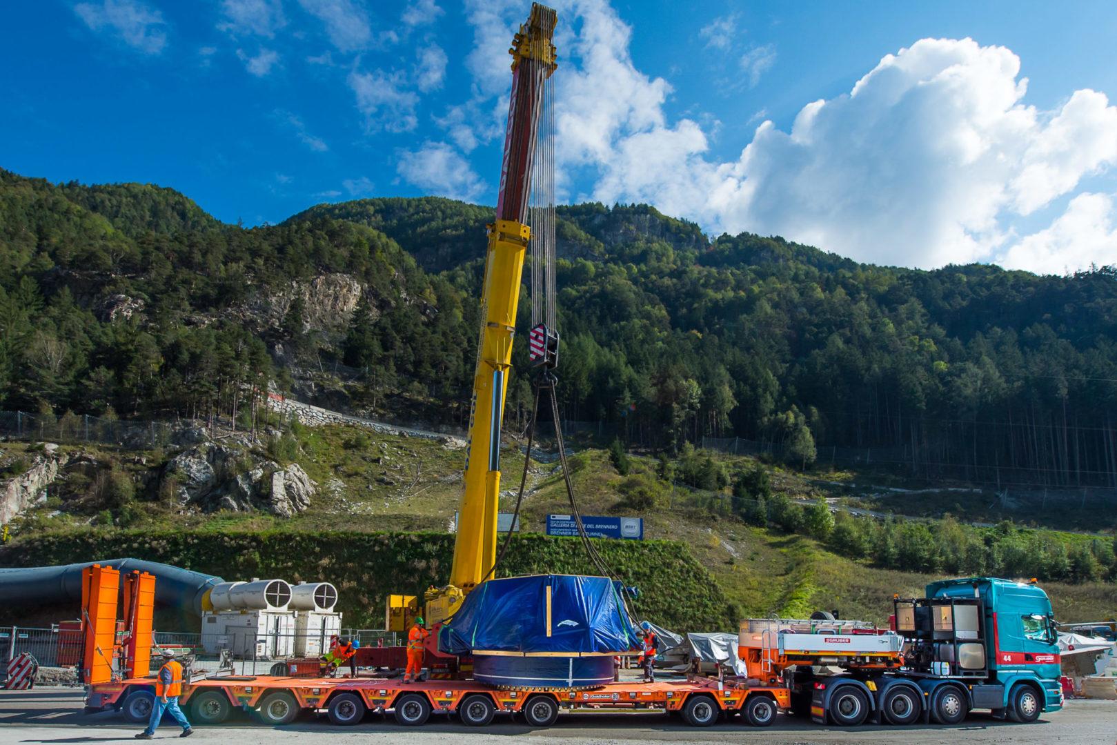 Galleria di Base del Brennero_Gruber Logistics