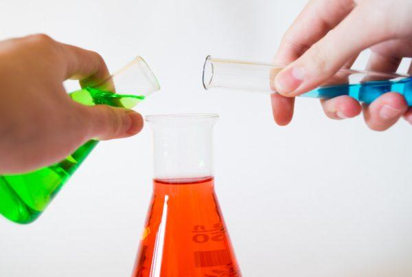 chemicals and plastics